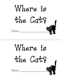 Kindergarten Emergent Reader - Sight Words Book - Where is
