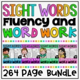 Sight Word NO PREP Fluency and Word Work