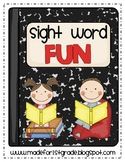 Sight Word Fun