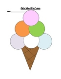Sight Word Ice Cream