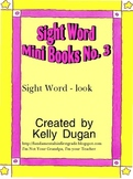 Sight Word Mini Book - Look