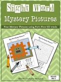 Sight Word Mystery Pictures - March Set 2