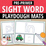 Dolch Pre-Primer Sight Word Play Dough Activity Mats:Build