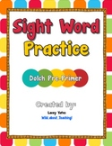 Sight Word Practice-Dolch Pre-Primer
