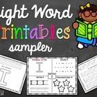 Sight Word Printables Sampler {I, see, me}