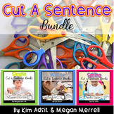 Sight Word Readers: Cut A Sentence Bundle by Kim Adsit and