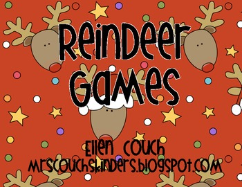 Sight Word Reindeer