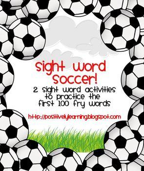 Sight Word Soccer!