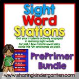 Sight Word Stations {PrePrimer~Bundled}