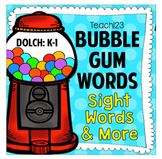 Sight Words Dolch