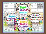 Sight Words Cut, Paste, Write Highlight {Bundle}