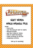 Sight Words MARCH MADNESS!