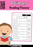 Sight Word Fluency Phrases for Homework (Primer Words)