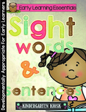 Sight Words and Sentence Activities