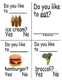 Sight word mini reader (Eat Book)