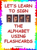 Sign Language Alphabet Flashcards