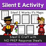 Silent E Works Its Magic (QR codes included) Common Core Aligned