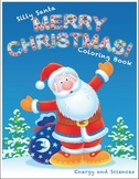 Silly Santa Merry Christmas Coloring Book