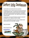 Silly Sentence Building-Safari Edition