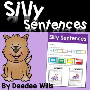 Silly Sentences: A Sentence Building Activity