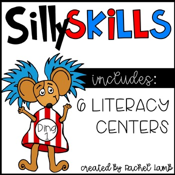 Silly Skills Literacy Centers for March