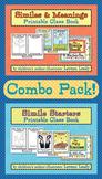 Similes Printable Class Books Combo Pack {Figurative Language}