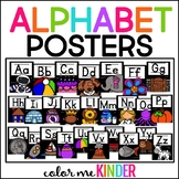Alphabet Posters for Primary Grades