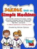 Simple Machines Unit: Flap Book, Experiments, Visual Aids,