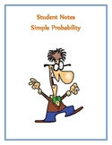Simple Probability Notes