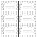 Simple Reward Punch Cards