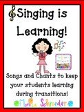 Singing is Learning: Music CD and File