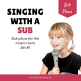 Singing with a Sub {Sub Plans for the Music Classroom}