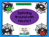 Singular and Plural Nouns {Halloween Spiders}