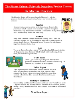 Sisters Grimm Fairytale Detectives Creative Reading Projec