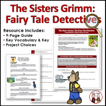 Sisters Grimm Fairy Tale Detectives Comprehension Guide Activity
