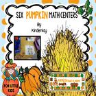 Six Pumpkin Happy Math Centers