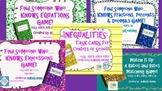 Sixth Grade Common Core Math Games Bundle!