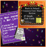 Back to School Sixth Grade Math BOGO!