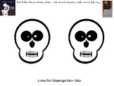 Skeleton Hiccups Beginning, Middle, End Writing Activity