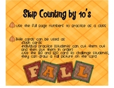 Skip Counting by 10-Fall