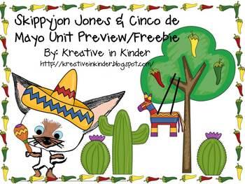 Skippyjon Jones & Cinco de Mayo FREEBIE!!!