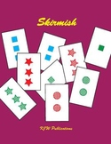 Skirmish Card Game  -  Attribute Card Game - 9 pages  -  8