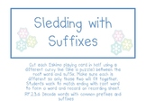 Sledding for Suffixes