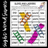 Slides and Ladders--Fry Words 101-200 Games