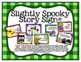Slightly Spooky Story Library Displays