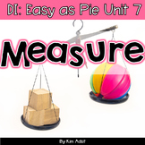 Small Group Math DI Easy as Pie, Unit 7 Measurement by K.