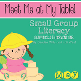 Small Group May ~ Meet Me At My Table
