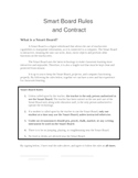 Smart Board Rules and Contract