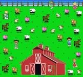 SmartBoard Attendance/Student Check-In Farm Theme