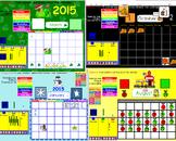 SmartBoard Calendars (editable)
